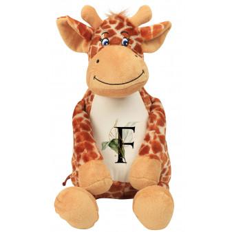 Peluche Girafe à personnaliser