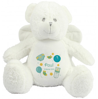 Peluche Ours ange à...