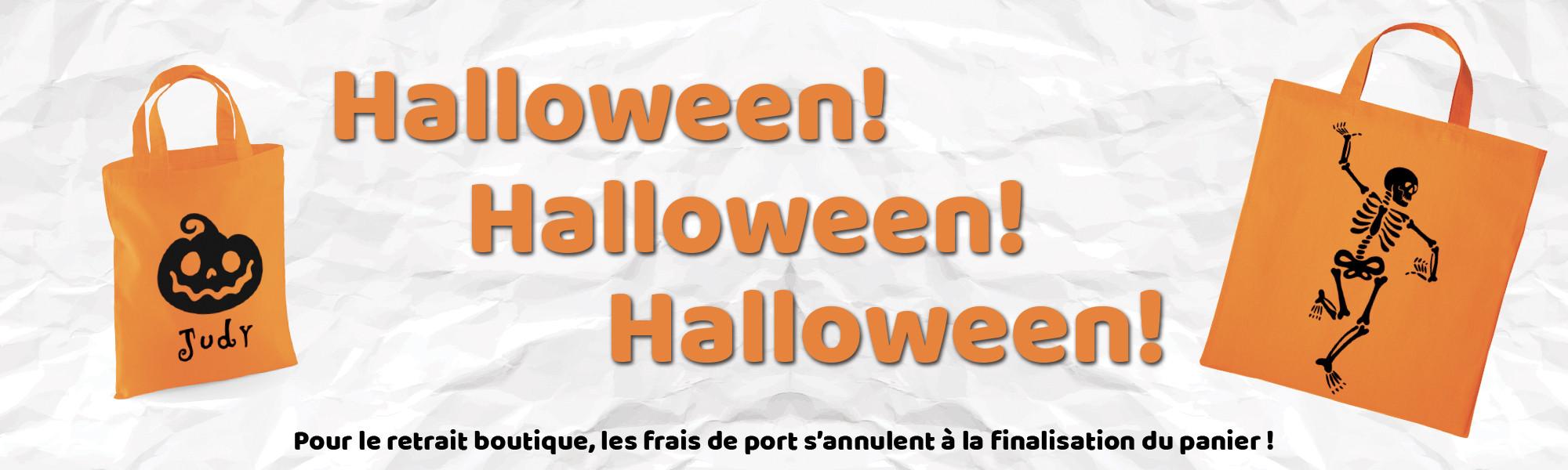 Bientôt Halloween, passez vos commandes !!!